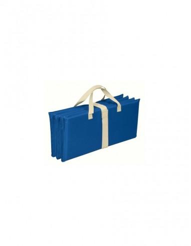 Colchón portátil para camping y playa, color azul. Brunner Bonita 0412031N  - 1