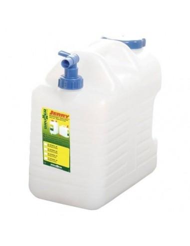Bidón de agua portátil 15Litros con grifo. Brunner Jerry Pro 810073N  - 1