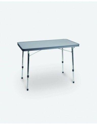 Mesa aluminio reforzado y tablero HPL 101X65cm. Crespo AL-246  - 1
