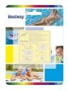 Kit de parches para reparación piscina. Bestway 62068  - 1