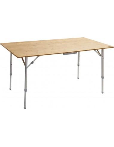 Mesa de madera plegable para camping 100x72cm. Brunner Camperking M 0406090N  - 1
