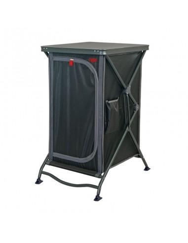 Armario de cocina plegable con estructura de aluminio y tejido poliéster, 57x76xH100cm. Crespo AP-103  - 1
