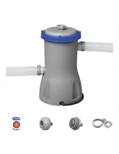 Depuradora de filtro de cartucho tipo II de 3028 litros/hora, ø32mm. Bestway 58386  - 1
