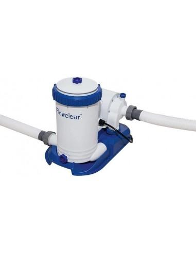 Depuradora de filtro de cartucho tipo IV de 9463 litros/hora, ø38mm. Bestway 58391  - 1
