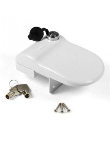 Kit 3 cierres de seguridad para puertas Caravanas o Autocaravanas. Fiamma Safe Door Blanco 04688A01  - 1